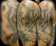 Werewolf | InkFREAKZ.com Random Tattoos, Original Tattoos, Werewolf, Body Art