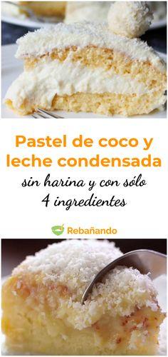 Este es el postre más sencillo de elaborar. ¡Ponte manos a la obra para comprobarlo! Pastry Recipes, Cake Recipes, Dessert Recipes, Cooking Recipes, No Cook Desserts, Easy Desserts, Mexican Food Recipes, Sweet Recipes, Strawberry Poke Cakes