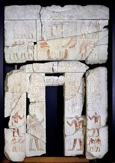 False door from the tomb of Pth-wash in Sakkara 2430 B.C.
