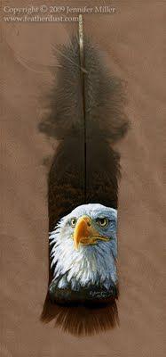 feather art Eagle  www.facebook.com/loveswish
