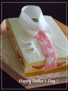 父の日に・・スペシャルなワイシャツケーキ☆ : パンのちケーキ時々わんこ