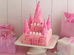 How to Make a Princess Castle Cake  Travel to the land of castles, princes and princesses with a delicious and fun cake.