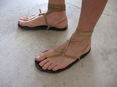 My Tarahumara-Style Sandals in Pottery, Basketry & Fiber-arts Forum