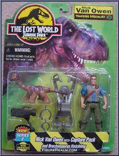 Kenner Jurassic Park: The Lost World Nick Van Owen Figure 1997