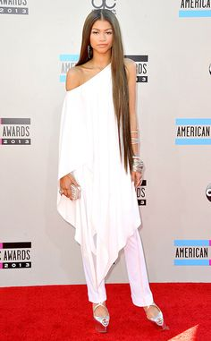 Dresses of the 2013 American Music Awards - Zendaya. AMA 2013 Fashion Breakdown - The Hottest Dresses of the Evening by SCLStyle.com Writer Tess Theisen: