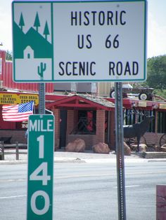 Travel the road on Route 66