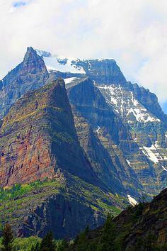 Glacier National Park . Montana