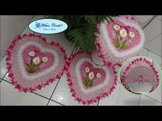 Flor Copo de Leite em Crochê Fácil de Fazer # Wilma Crochê - YouTube