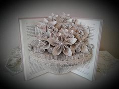 Check out this item in my Etsy shop https://www.etsy.com/listing/579438749/book-sculpture-altered-book-book-bouquet
