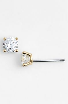Every girl should have a pair of prong-set solitaire studs that are sure to add timeless radiance to any ensemble.