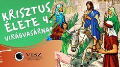 Krisztus élete 4/1 Virágvasárnap (VISZ) Comic Books, Comics, Cover, Youtube, Cartoons, Cartoons, Comic, Comic Book, Youtubers
