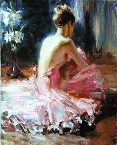 The ballet dancer - Vladimir Ezhakov
