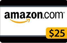 $25 Amazon Gift Card at MyFreebeez.com