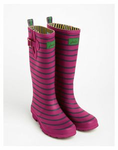 Printed wellington boot - Green | Shoes | Ted Baker | Retail ...