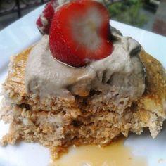Pancake recipe! Recipe on the blog www.fabulousveganrecipes.com