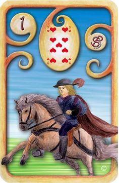 Baralho Cigano - O Cavaleiro - Carta 1 - Linha das Águas