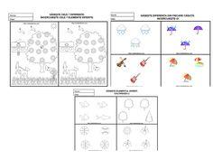 7 planse educative. Gaseste diferentele. – Catalina Bîrsan Map, Blog, Location Map, Blogging, Maps