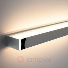Długa lampa ścienna LED Cilian, chrom 9633008 61 cm 577 pln