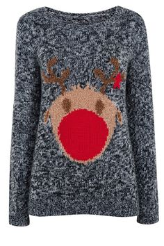 0abf323304 Rudolph Christmas jumper from Dorothy Perkins