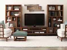 Lexington Home Brands - contemporary - family room - Barbara Schaver @ Furnitureland South