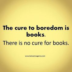 The only cure is more books.