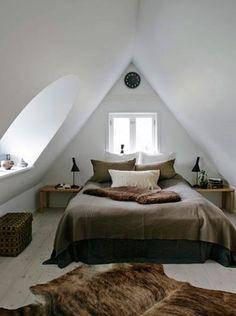 Attic Bedroom by sweet.dreams