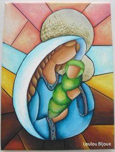 Pintura acrílica sobre tela  lumabijoux.blogs.sapo.pt