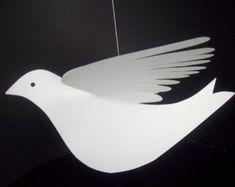 Oiseaux de papiercinq suspendus oiseaux de papier par LorenzKraft