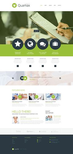 Business Company Website #Joomla #template. #themes #business #responsive