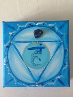 5th Chakra with sodalite energized 20x20 - Available to order