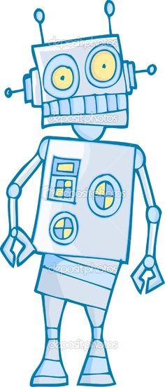 affiche de robot garons tout petits grand garon salle de garon robots - Affiche Garcon Robot