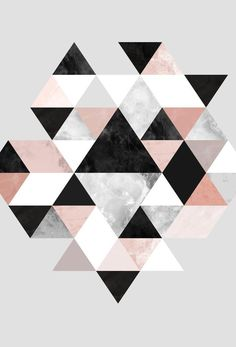 Graphic 202 Art Print by Mareike Böhmer Cute Wallpapers, Wallpaper Backgrounds, Iphone Wallpaper, Art Mural, Wall Art, Tumblr Rooms, Art Graphique, Geometric Art, Oeuvre D'art