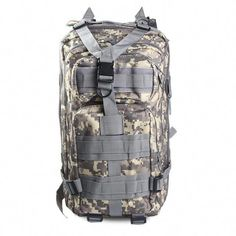 6c5067f6d4 Men   Women Outdoor Military Army Tactical Backpack Trekking Sport Travel Rucksacks  Camping Hiking Trekking Camouflage Bag Features  Tactical
