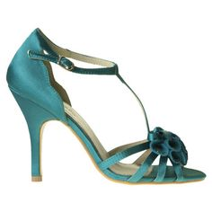 PANSY by I LOVE BILLY. 10 cm satin covered heel. Synthetic upper, leather lining and synthetic sole.