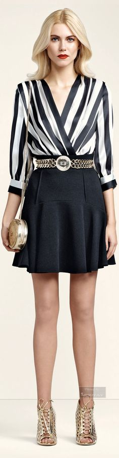 Elisabetta Franchi.SS2015. women fashion outfit clothing style apparel @roressclothes closet ideas