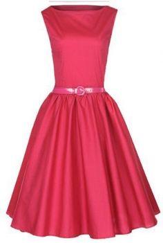 Lindy Bop Classy Vintage Audrey Hepburn Style 1950's Rockabilly Swing Evening Dress