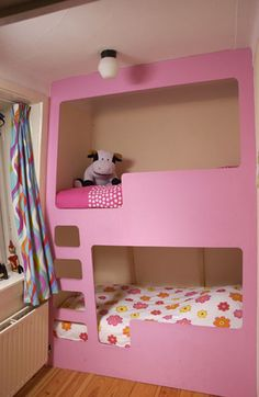 Pink Bunk Bed - like Lister's from Red Dwarf but Pink!
