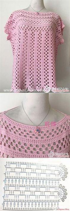 Crochet lace jacket pattern ganchillo 29 Ideas for 2019 Crochet Tunic Pattern, Crochet Jacket, Crochet Cardigan, Crochet Shawl, Crochet Stitches, Crochet Patterns, Knitting Patterns, Lace Jacket, Lace Sweater