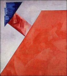 Non-objective Composition by Olga Rozanova (1917)