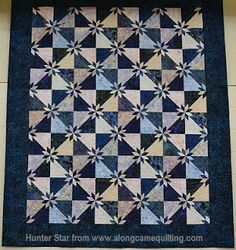 mmm quilts: Hunter Star variation gorgeous