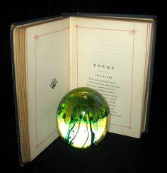 1882 Rare Book - Poems by Edgar Allan POE (The Raven, Lenore, Ulalume, – MFLIBRA - Antique Books