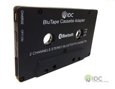 IDC© BluTape Bluetooth Car / Van Stereo Cassette Tape Player Music Audio Receiver Adapter - Turn a standard stereo cassette tape player Bluetooth for wireless music.