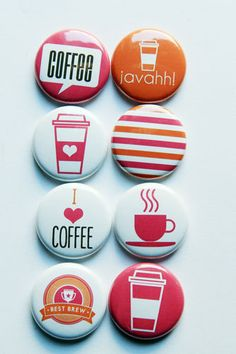 New Coffee 3 by aflairforbuttons on Etsy, $6.00