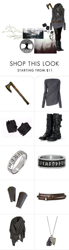 """""""for de sanne guder!"""" by morbid-octobur ❤ liked on Polyvore featuring Rick Owens Lilies, Skingraft, Fiorentini + Baker, Rune NYC, Topshop, AllSaints, Freya, OBEY Clothing and Dot & Bo"""