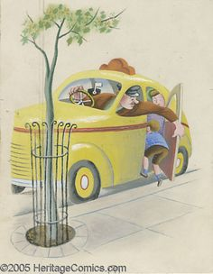Tibor Gergely - Little Golden Book #25 The Taxi That Hurried