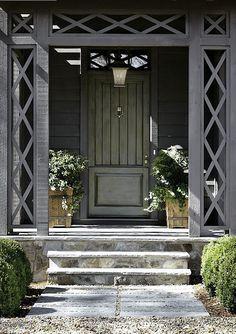 Blue Ridge Mountains Home - Architect D. Stanley Dixon; Nancy Warren design; Emily Followill photo via Atlanta Homes & Lifestyle