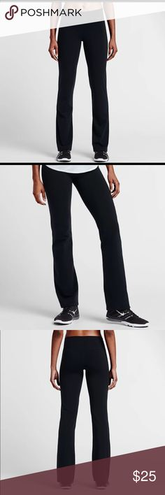 """LIKE NEW ⚡️ Nike Power Legendary Pants The Nike Power Legendary Women's 30"""" Mid Rise Training Pants feature a form-fitting design through the hip and thigh for a classic fit.  Benefits ⚡️Nike Power fabric offers compression and support ⚡️Dri-FIT fabric helps keep you dry and comfortable ⚡️Mid-rise waistband is tilted up in back for ample coverage ⚡️Classic cut is slightly fitted through the hip and thigh ⚡️Flat seams feel smooth against your skin Nike Pants Leggings"""