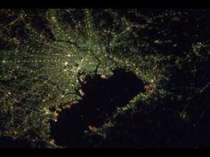 City Lights From International Space Station (2002-2008) / via david kim