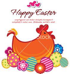 Easter chick vector 1008104 - by ElsyStudio on VectorStock®