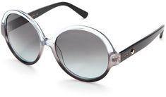 MCM Two-Tone XL Round Sunglasses